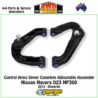 Control Arm Upper Complete Adjustable Assembly - Nissan Navara D23 NP300