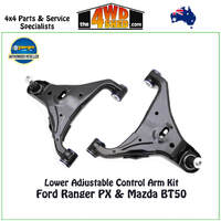 Lower Adjustable Control Arm Kit - Ford Ranger PX PX2 PX3
