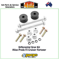 Differential Drop Kit Hilux Prado FJ Cruiser Fortuner