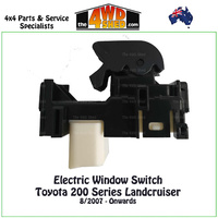 Toyota 200 Series Landcruiser Electric Window Single Switch