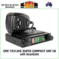 GME TX3120S SUPER COMPACT UHF CB with ScanSuite - TX3120S