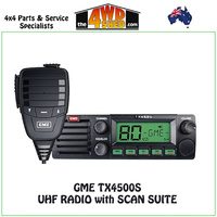 GME TX4500S DSP DIN UHF RADIO with SCAN SUITE - TX4500S