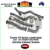 Toyota Landcruiser 78 Series Troop Carrier 2007 - 2016 Redback Exhaust System
