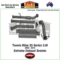 Toyota Hilux 25 Series 3.0l 2005 - 2015 Redback Exhaust System