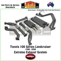 Toyota Landcruiser 100 Series 1998 - 2008 Redback Exhaust System