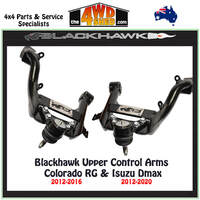 Blackhawk Upper Control Arms Holden Colorado RG Isuzu Dmax 2012-2016