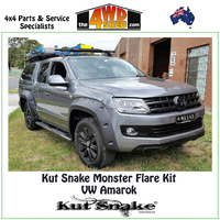 Kut Snake Monster Flare Kit - VW Amarok UTE KIT