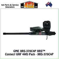 GME XRS-370C4P XRS™ Connect UHF 4WD Pack - XRS-370C4P