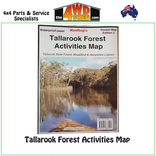 Tallarook Forest Activities Map 1:50 000