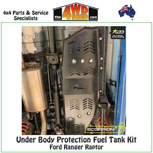 Fuel Tank Protection Ford Raptor Ranger